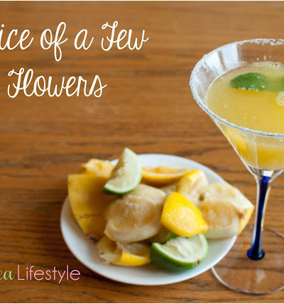 Day 11: Juice of a Few Flowers Cocktail Recipe