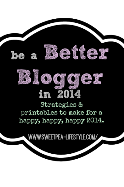 Blog Planning for the New Year