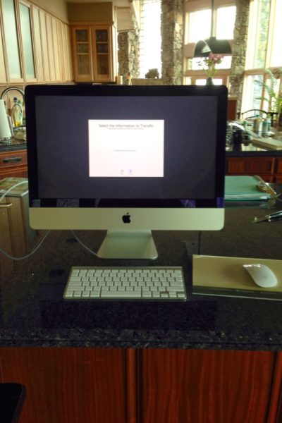 Migrating Your Old Macbook to Your New iMac