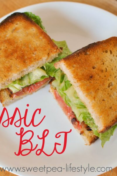 Summer with Trader Joe's Week One — The Classic BLT.