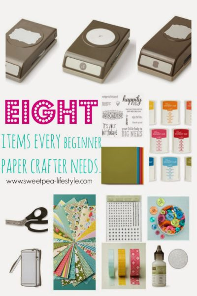 Creating a Beginner Paper Crafting Kit