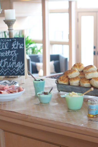 How to Host An Easy Biscuit Bar Brunch