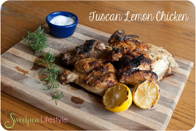 Tuscan Lemon Chicken