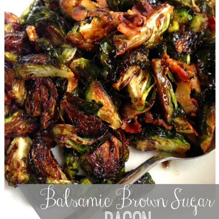 Balsamic Brown Sugar Brussels Sprouts