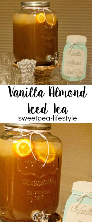 Thanksgiving Beverage: Vanilla Almond Iced Tea