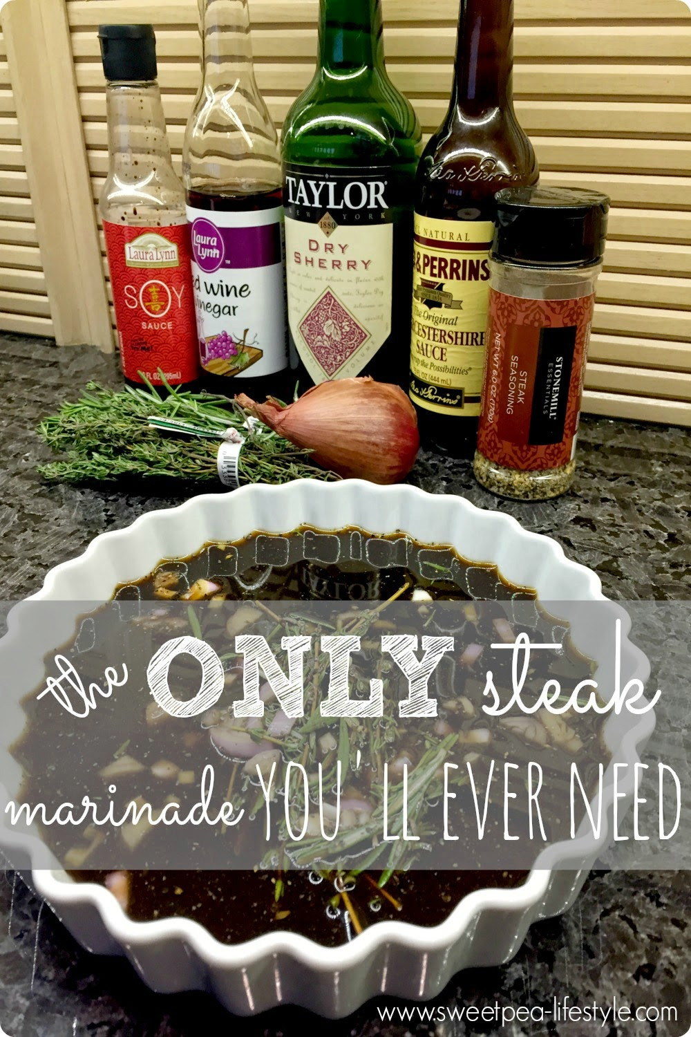 The ONLY Steak Marinade You Will Ever Need