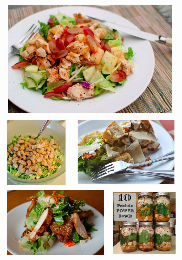 New Year's Resolutions Salad Recap!