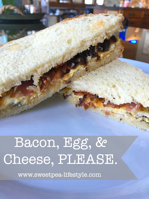 Bacon, Egg, & Cheese, PLEASE.