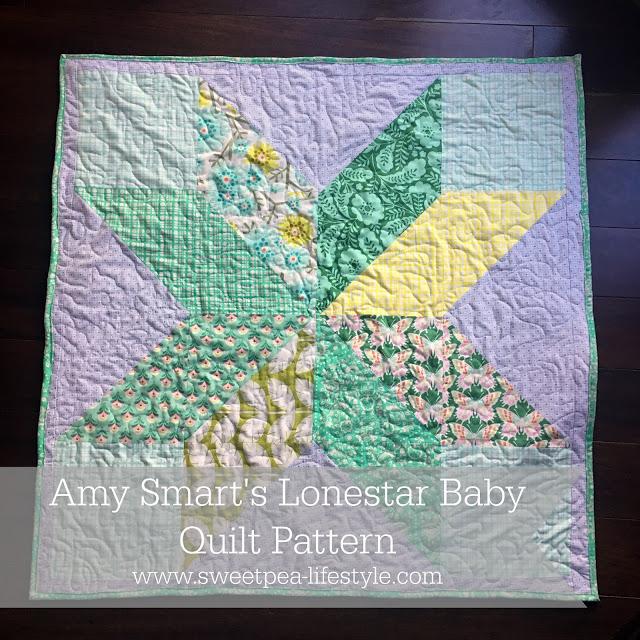 Amy Smart's Lonestar Baby Quilt