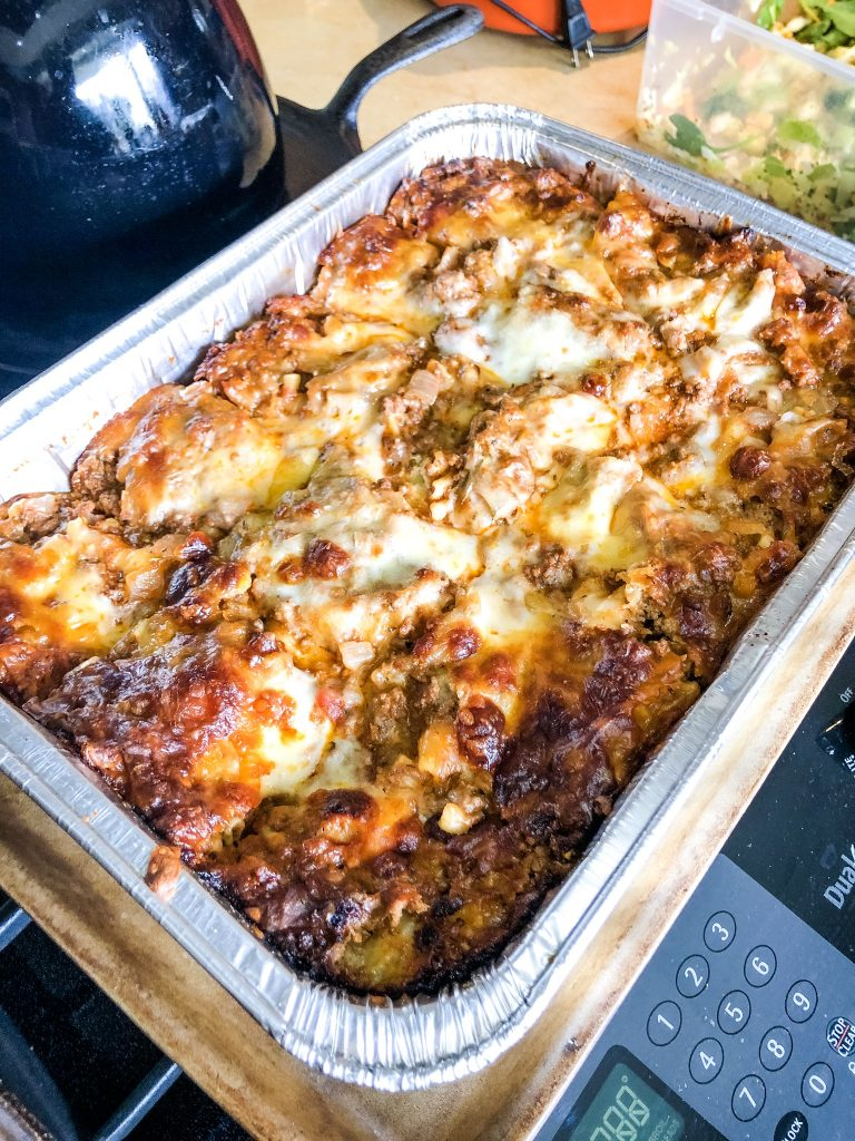 Angry Lasagna Recipe