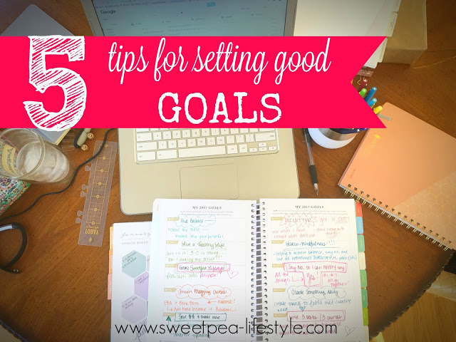 5 Tips for Good Goal Setting