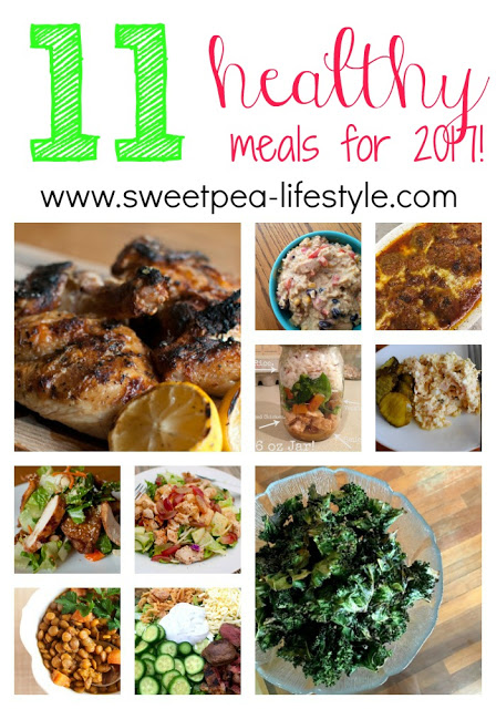 Eleven Meals to Get Your New Year Started!