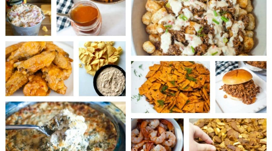 Easy Game Day Snack Recipe Ideas from Sweetpea Lifestyle