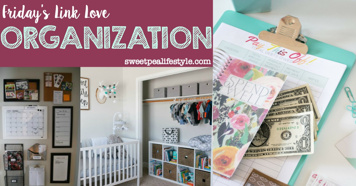 Friday's Link Love: Organization