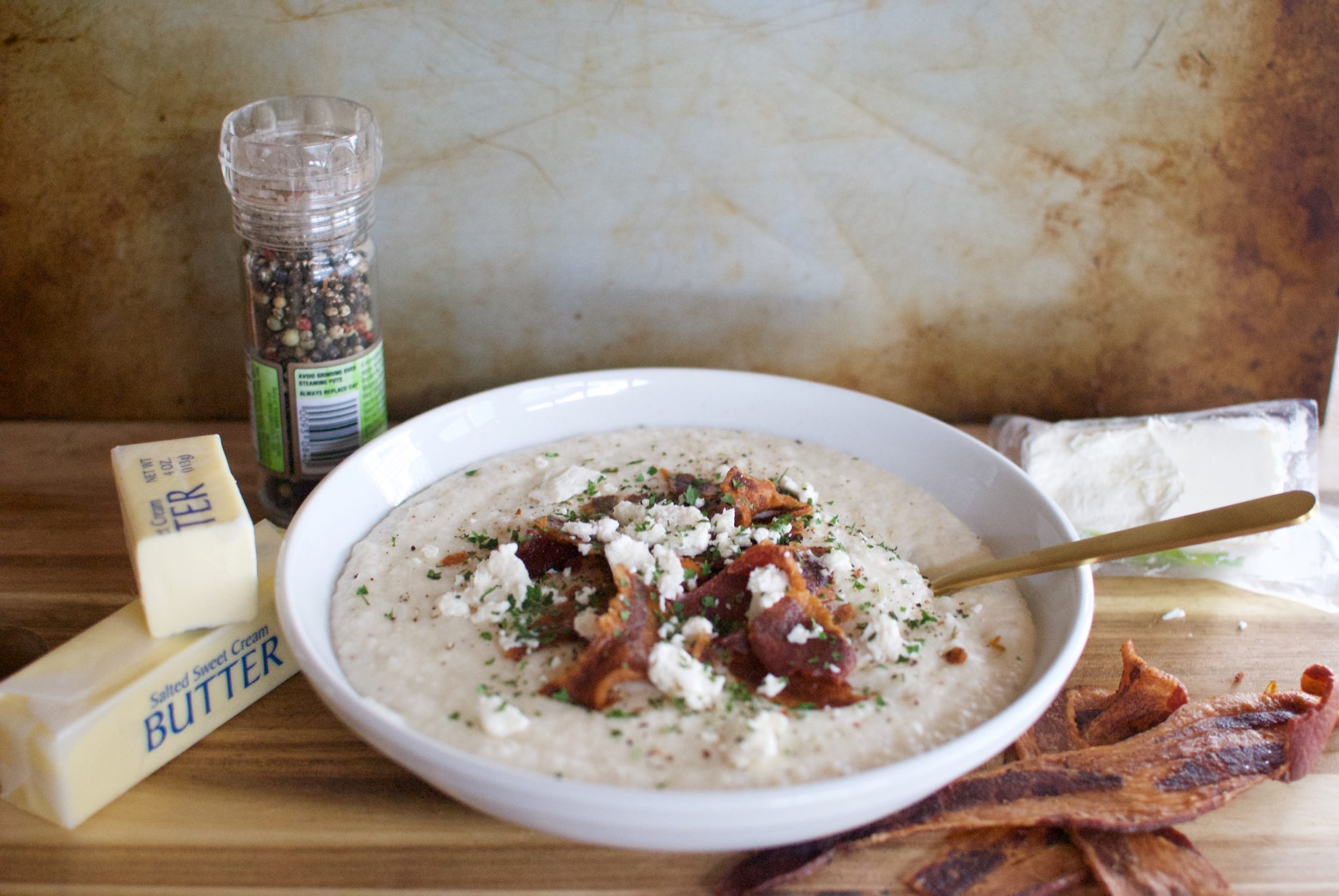 Goat Cheese Grits