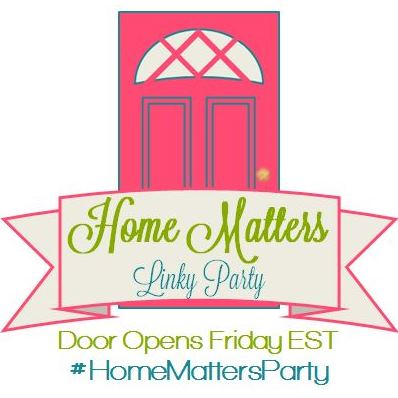 Home Matters Linky Party #159
