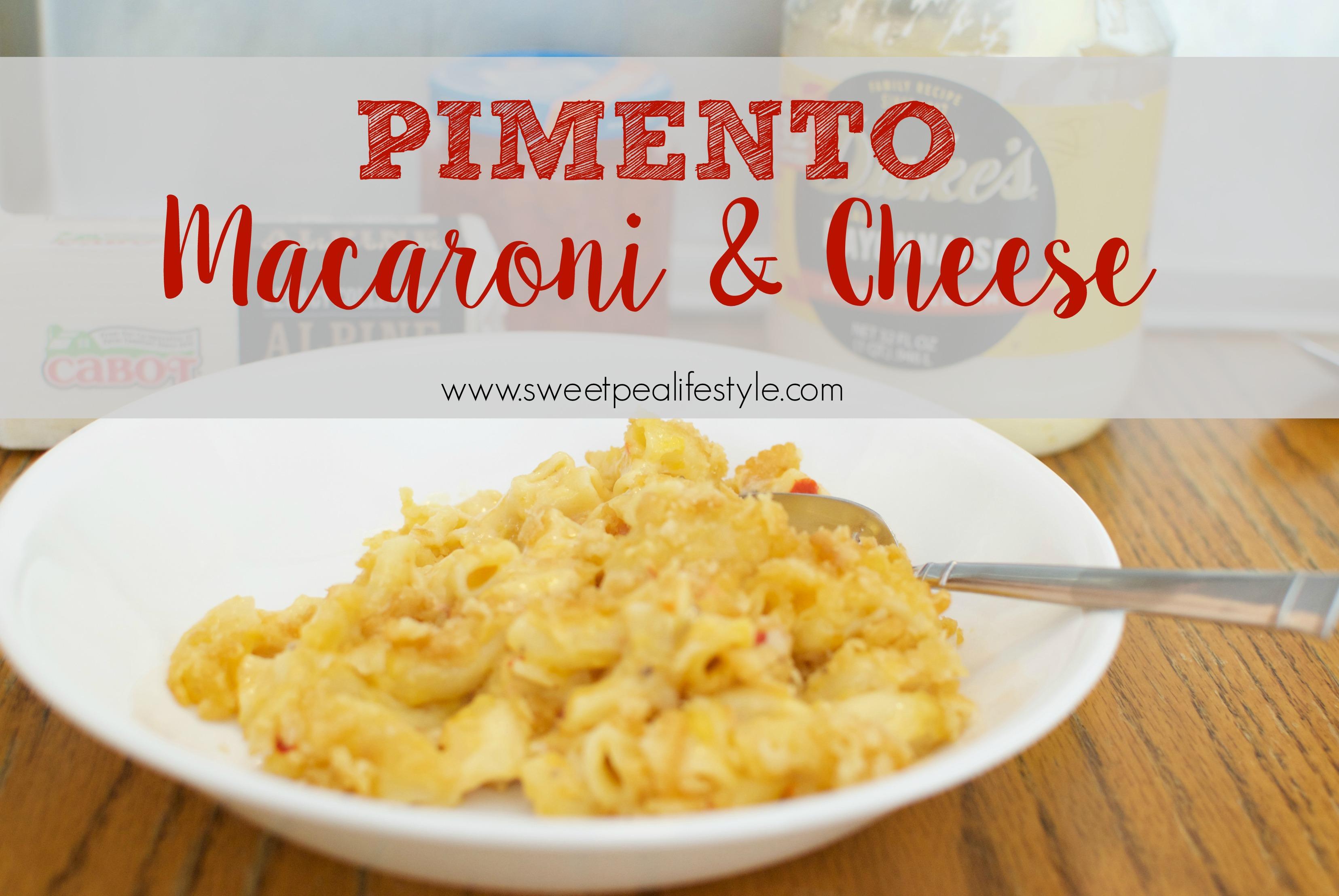 Pimento Macaroni & Cheese