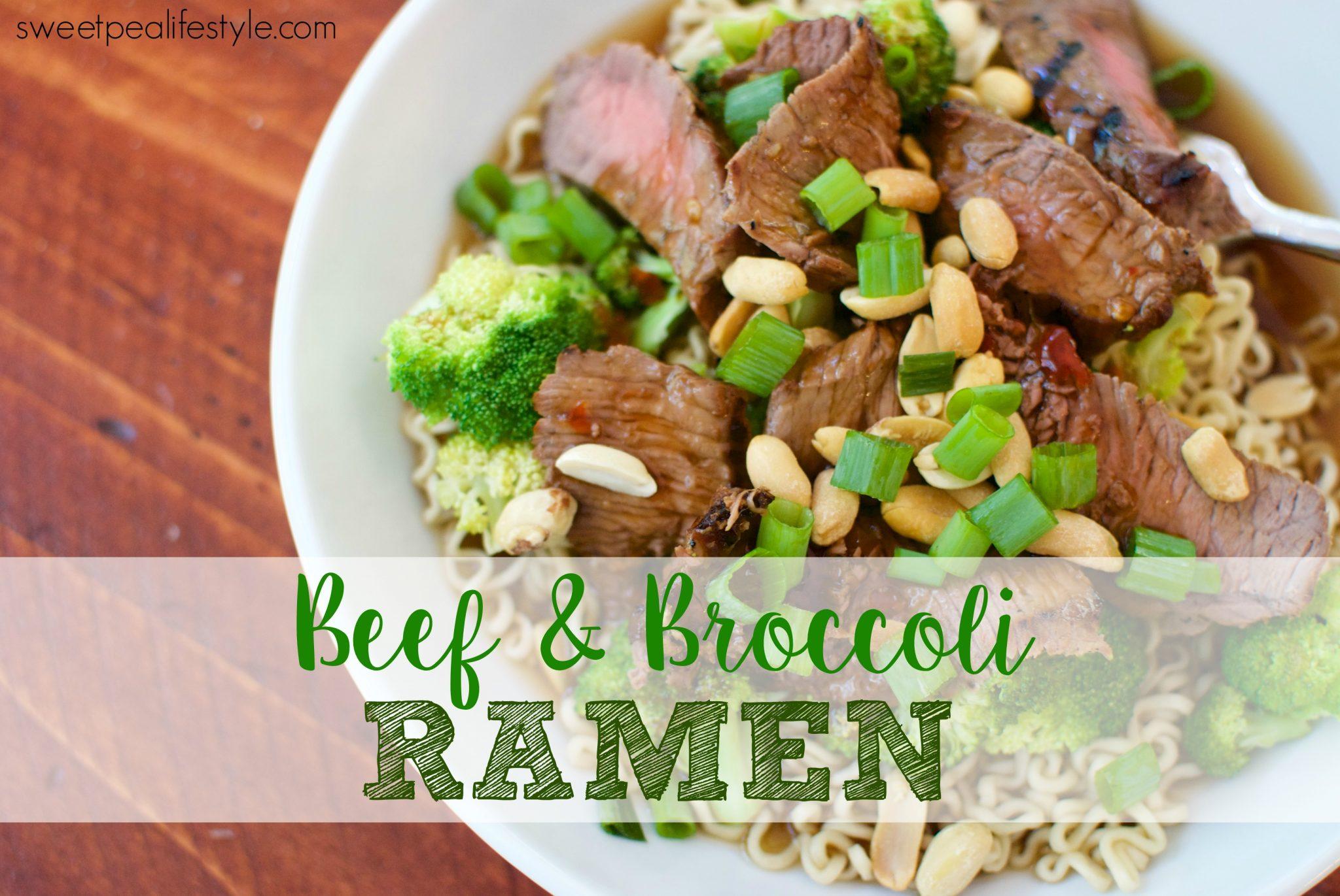 Beef & Broccoli Ramen