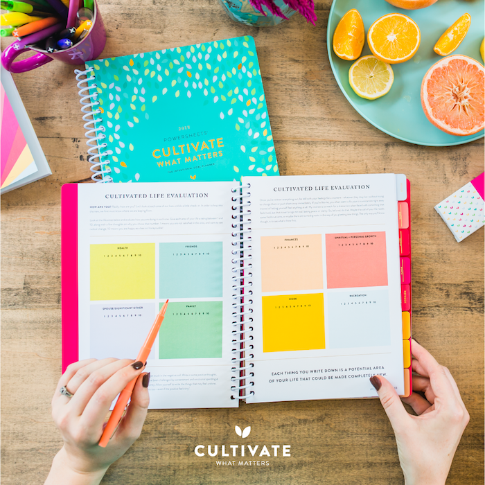 cultivate what matters powersheets