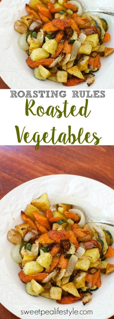 Three simple rules for the most delicious roasted vegetables you've ever tasted! Perfect for summer time harvest.