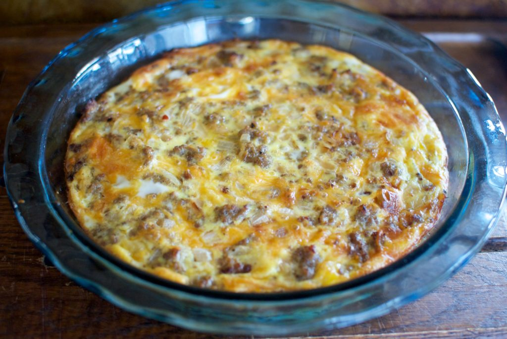 Easy keto egg bake is the best low carb brunch idea