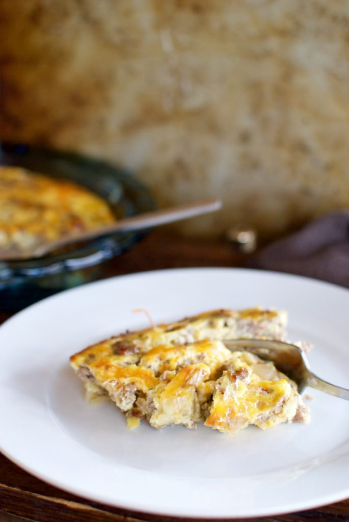 easy keto egg bake