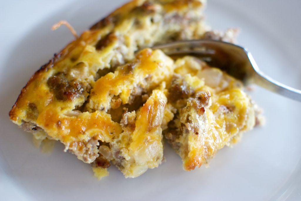 easy keto egg bake is a delicious start to any morning!