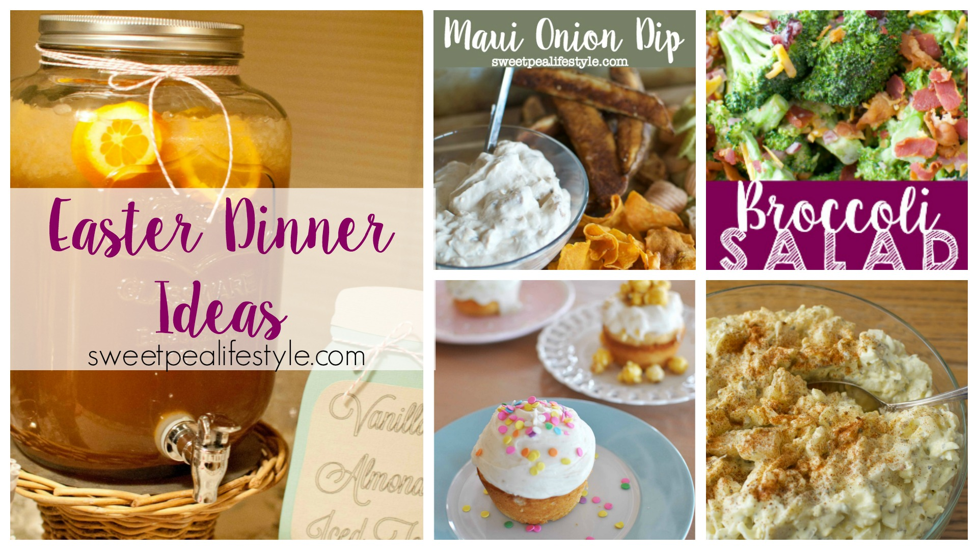 Easter Dinner Menu & Ideas
