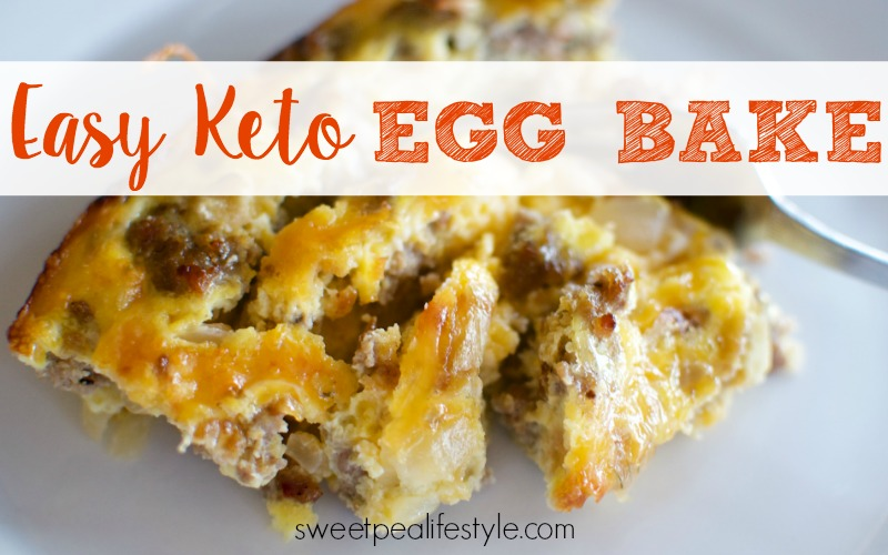 easy keto egg bake is a delicious low carb friendly breakfast
