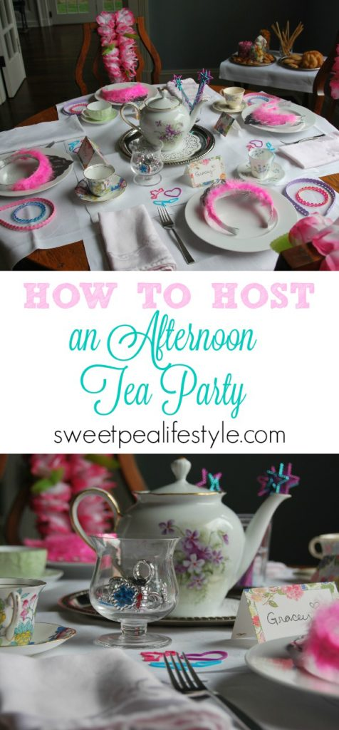 Host an unforgettable afternoon tea party! Using three simple tips, your tea party will be the hit of the neighborhood!