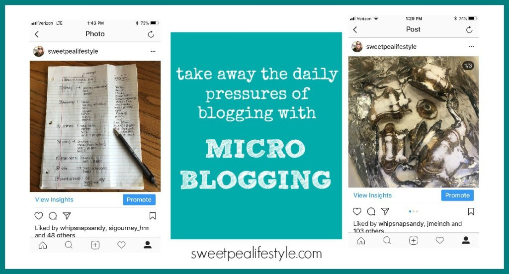 Use microblogging for on the go quick tips and tricks.