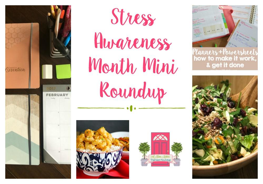 Stress Awareness Management Ideas + HM #178