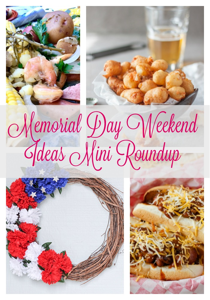 Memorial day weekend ideas hm 184 for Memorial day weekend ideas