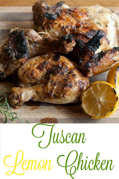 Ina Garten's Tuscan Lemon Chicken