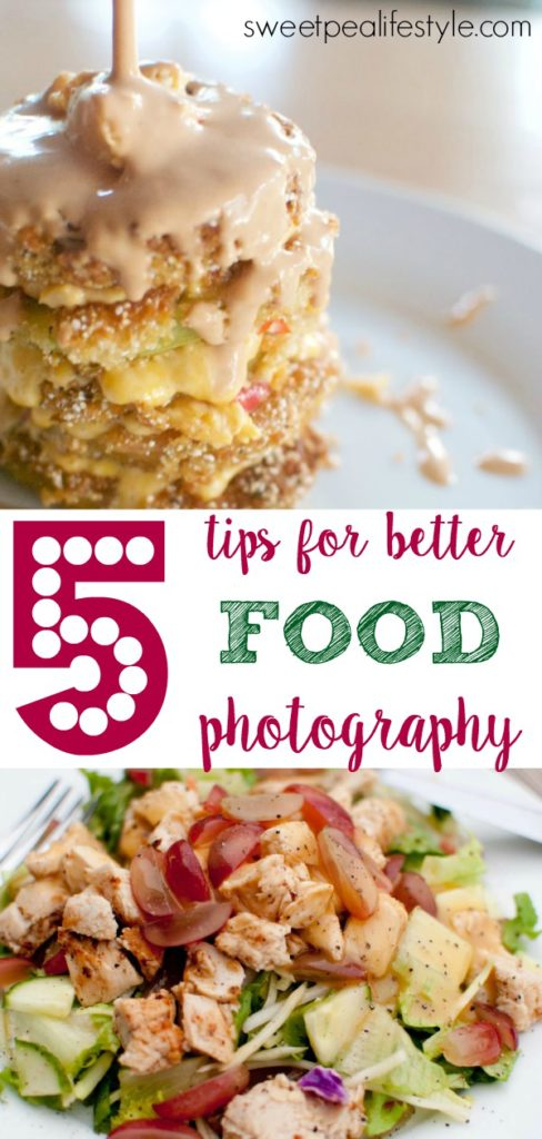 Food blog photography tips and techniques