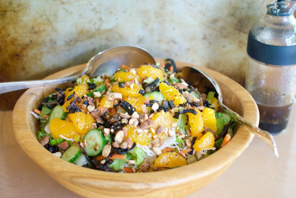 Mandarin Orange Salad is a the perfect summertime salad recipe.