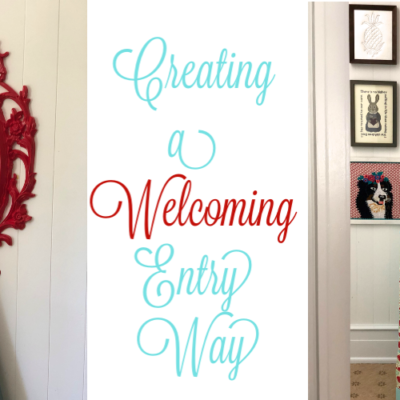 How to Create a Welcoming Entry Way | Apartment Style