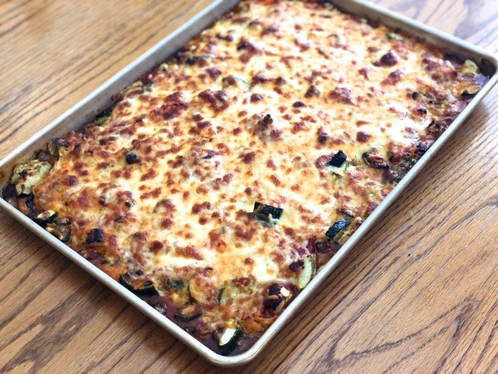 Easy side dish idea, side dish recipe, zucchini recipe, italian side dish