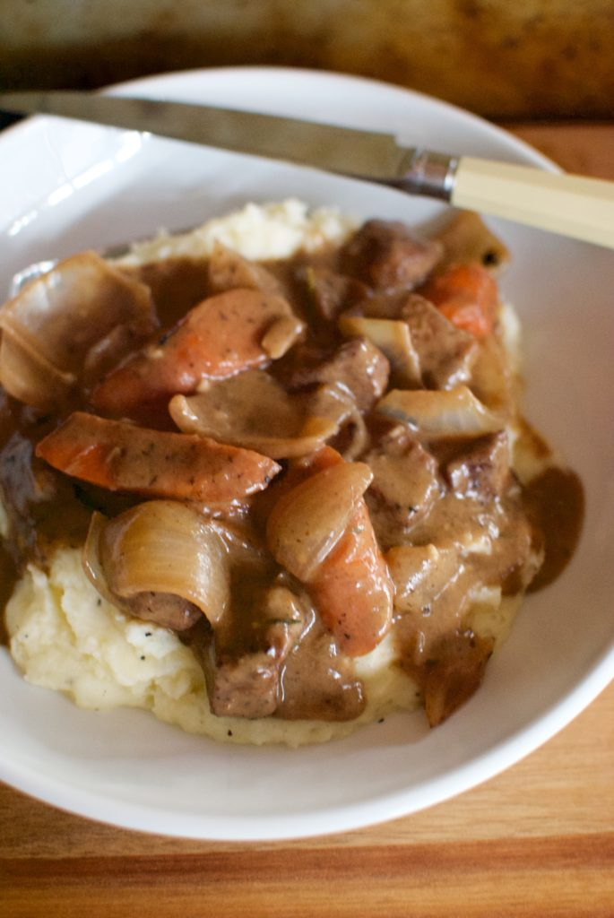 beef bourguignon is the dinner that makes fall!