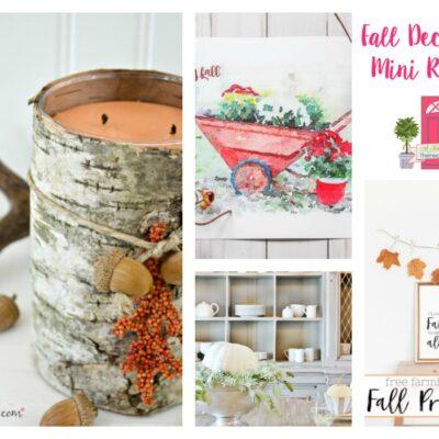 Fall Decor to Make Your Home Cozy + HM #201