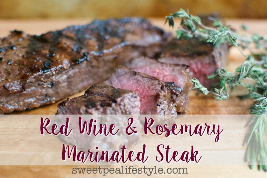 red wine marinated steak recipe