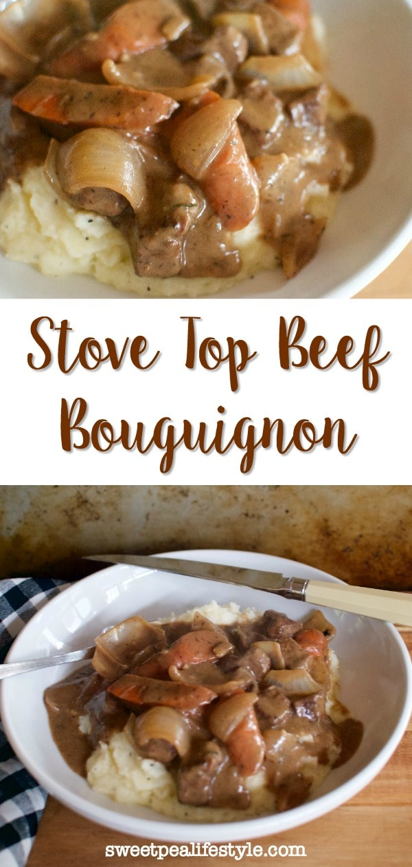 stove top beef bouguignon