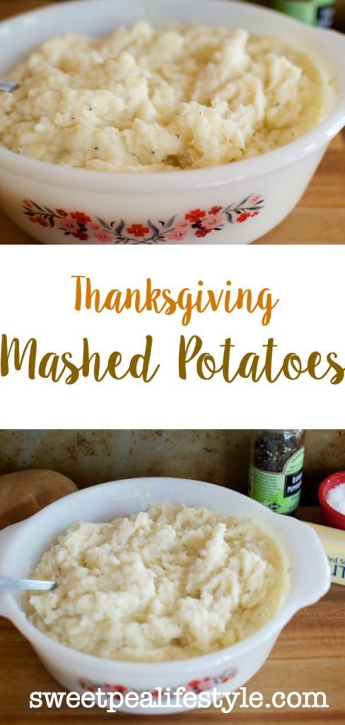 Mashed potatoes a thanksgiving side dish with one secret ingredient