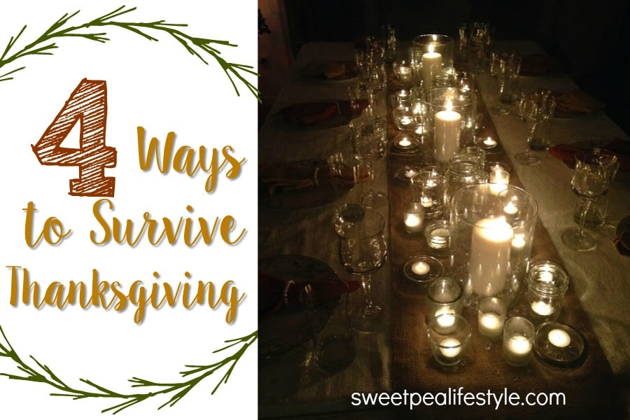 easy ways to survive thanksgiving