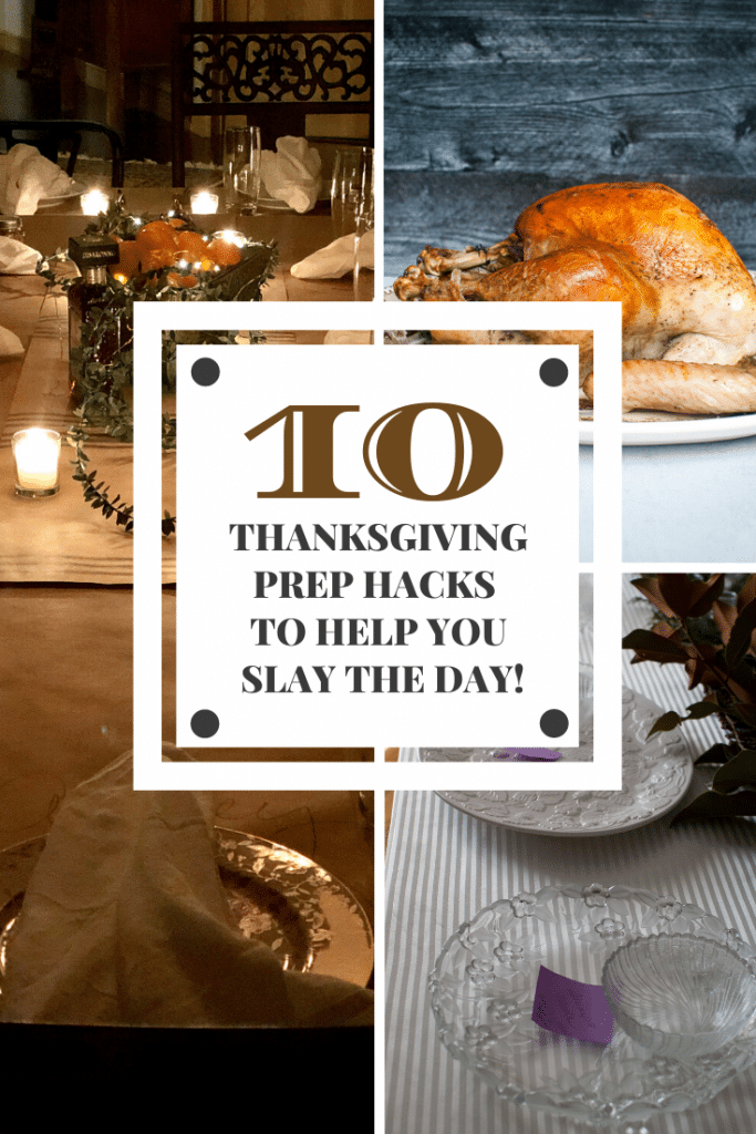thanksgiving prep hacks