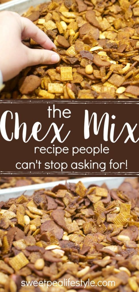 Chex mix recipe for a crowd