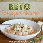 Easy Low Carb/Keto Shrimp Recipe