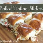 Baked Italian Sliders