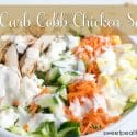 Low Carb Cobb Chicken Salad
