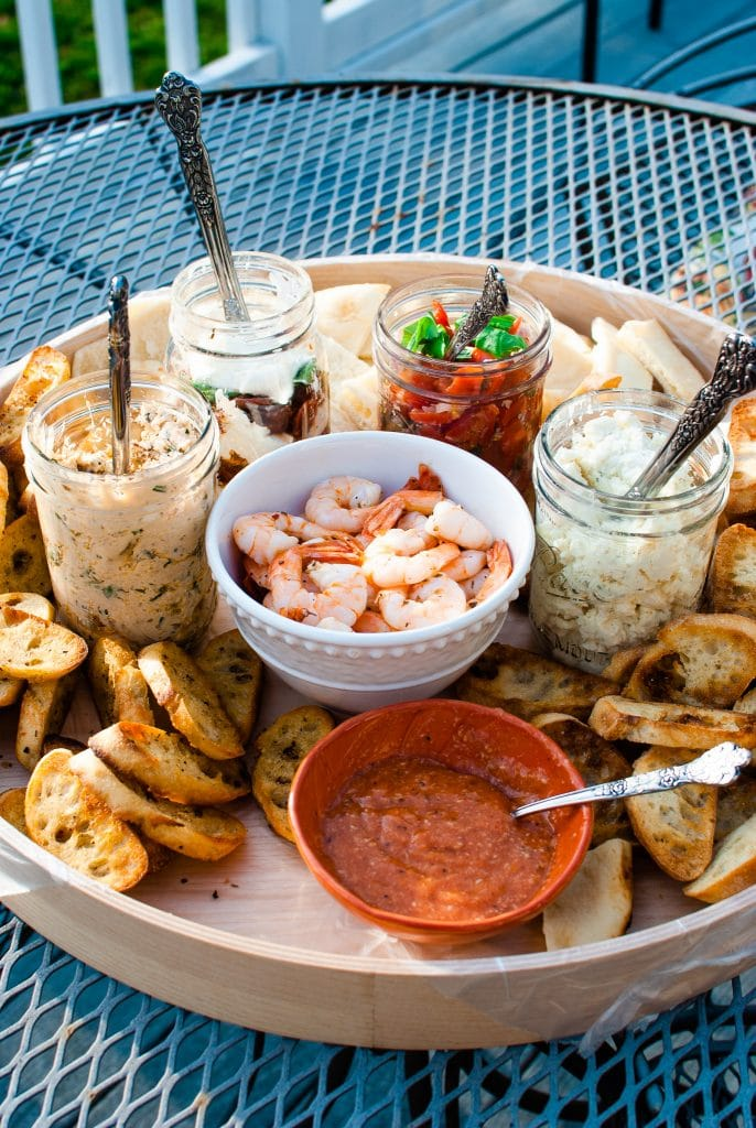 Bruschetta Bar topping ideas